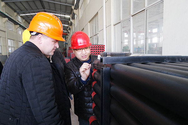 Russian Customer Visit Wuxi Plant