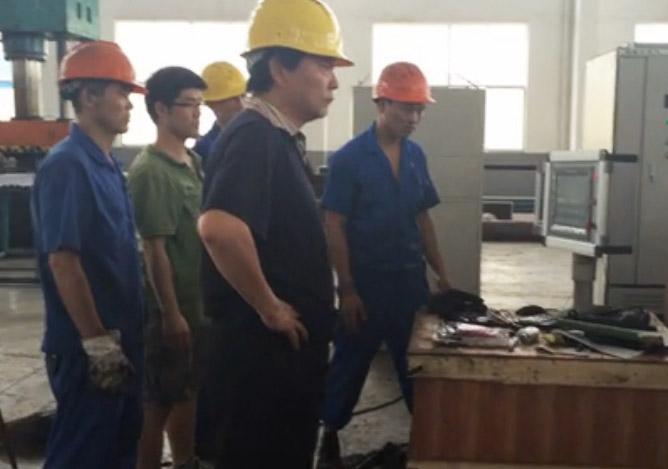 600吨摩擦焊机床调试视频