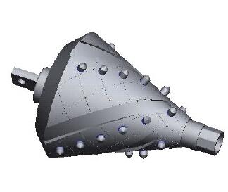 八方联接带分动器流道扩孔器