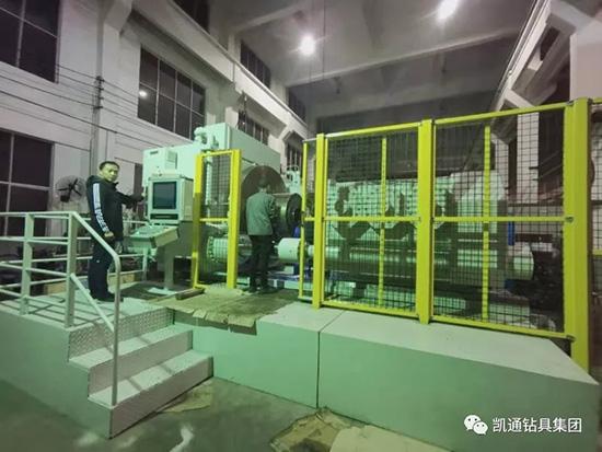 我国自主研发的新型大型惯性摩擦焊机问世!