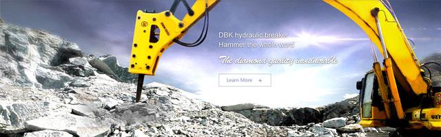 DBK hydraulic breaker