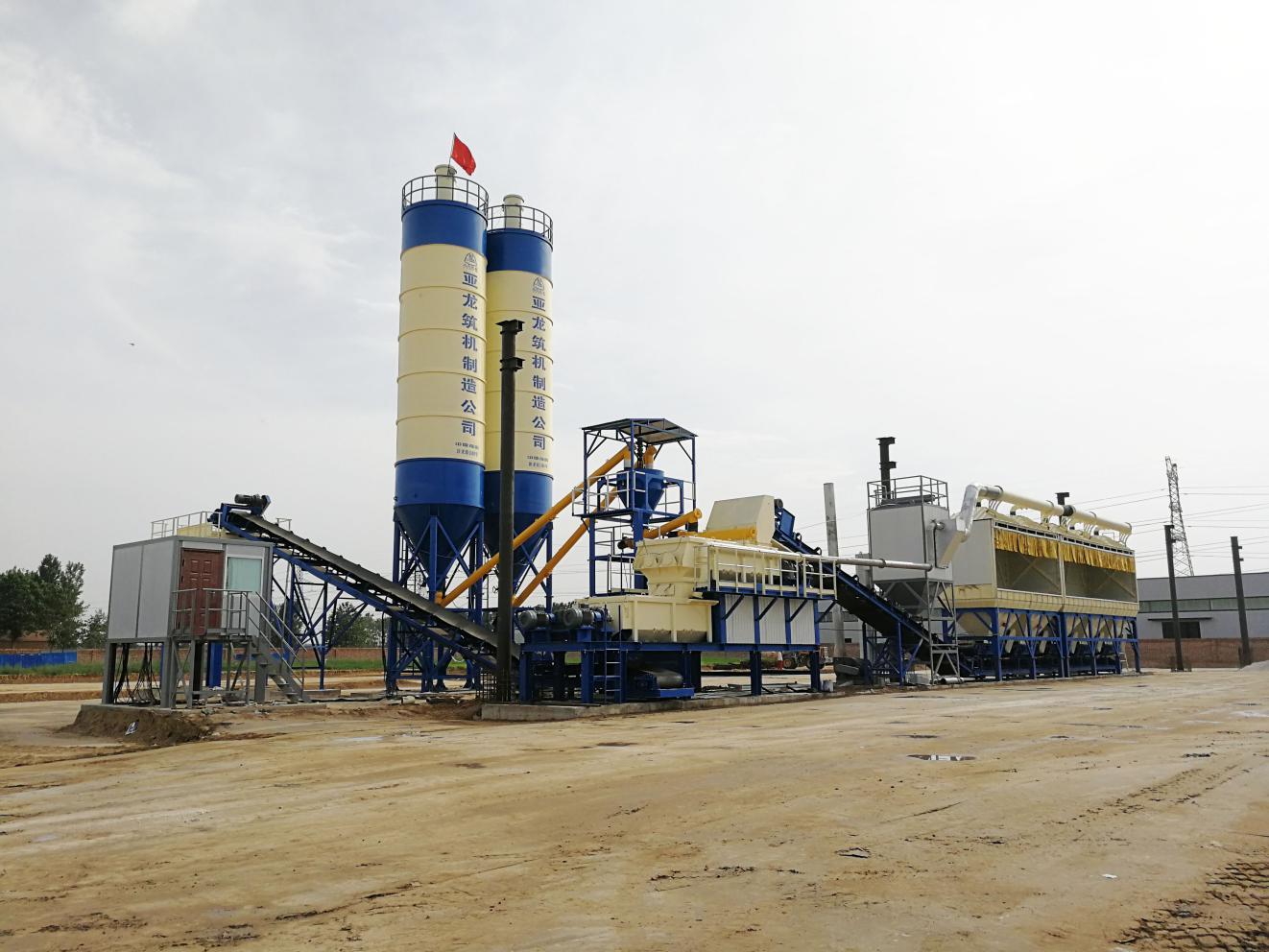 濮阳市政JWBC600稳定土厂拌设备