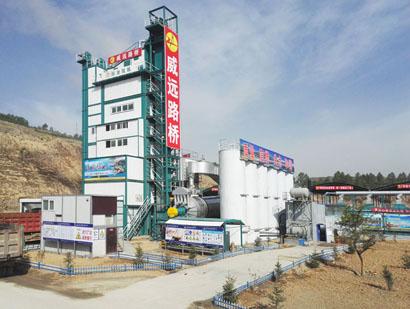 HXBH环保沥青混合料搅拌设备