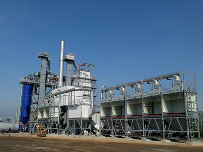 泰国曼谷2000H整体式沥青混合料再生设备