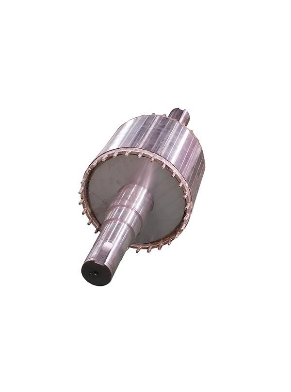 永磁电机铸铝转子