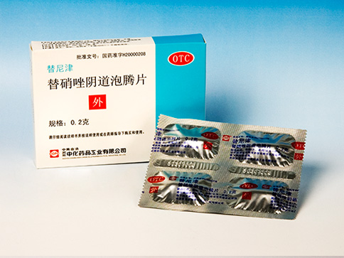 Tinidazole Vaginal  Effervescent Tablets(Ti Ni Jin)