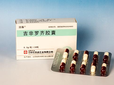 Gemfibrozil Capsules(Jie Zhi)