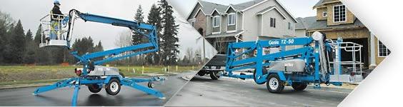 拖车式曲臂型高空作业平台