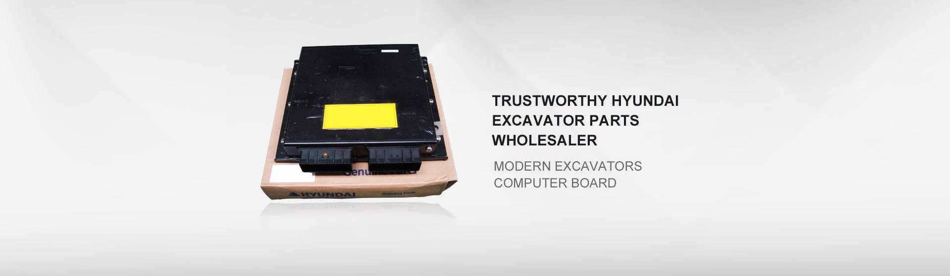 Modern excavators computer board