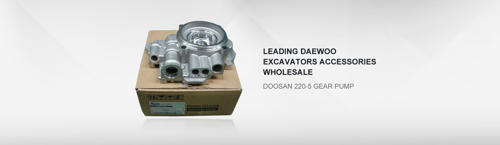 Doosan 220-5 gear pump