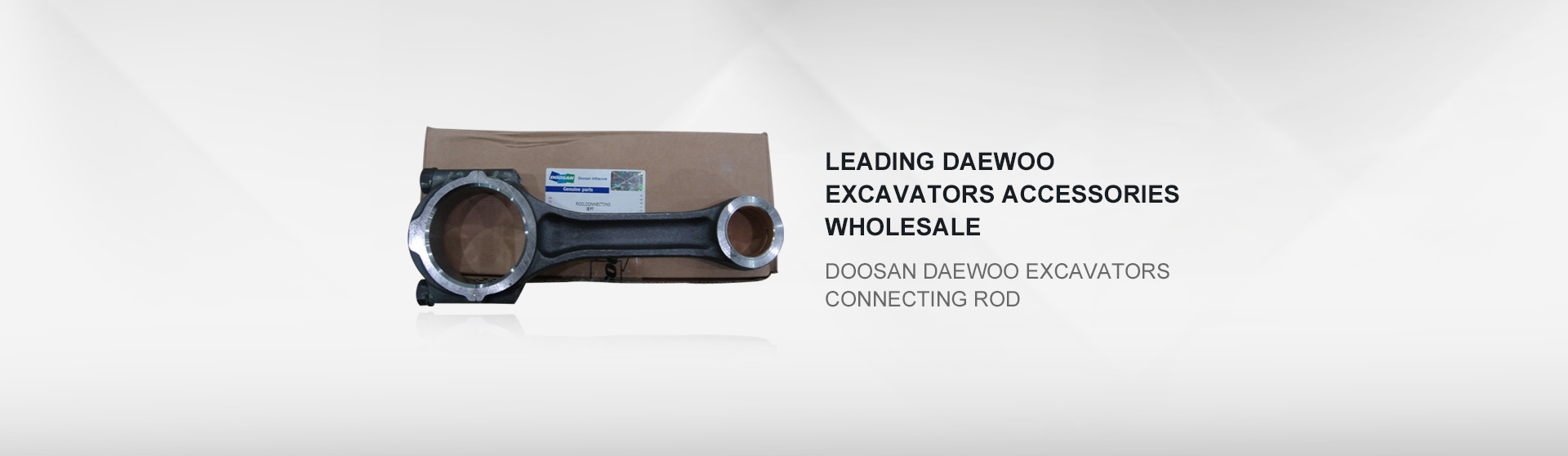 Doosan daewoo excavators connecting rod