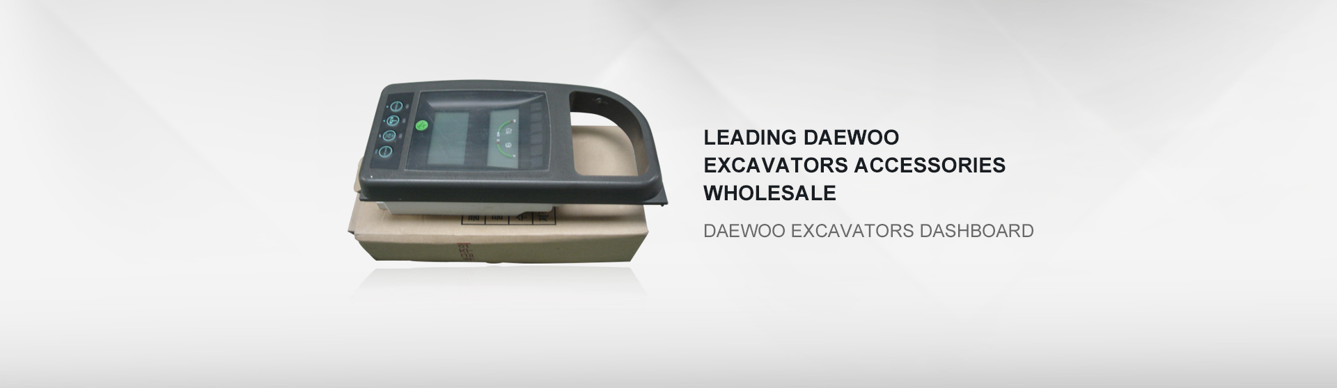 Daewoo excavators dashboard