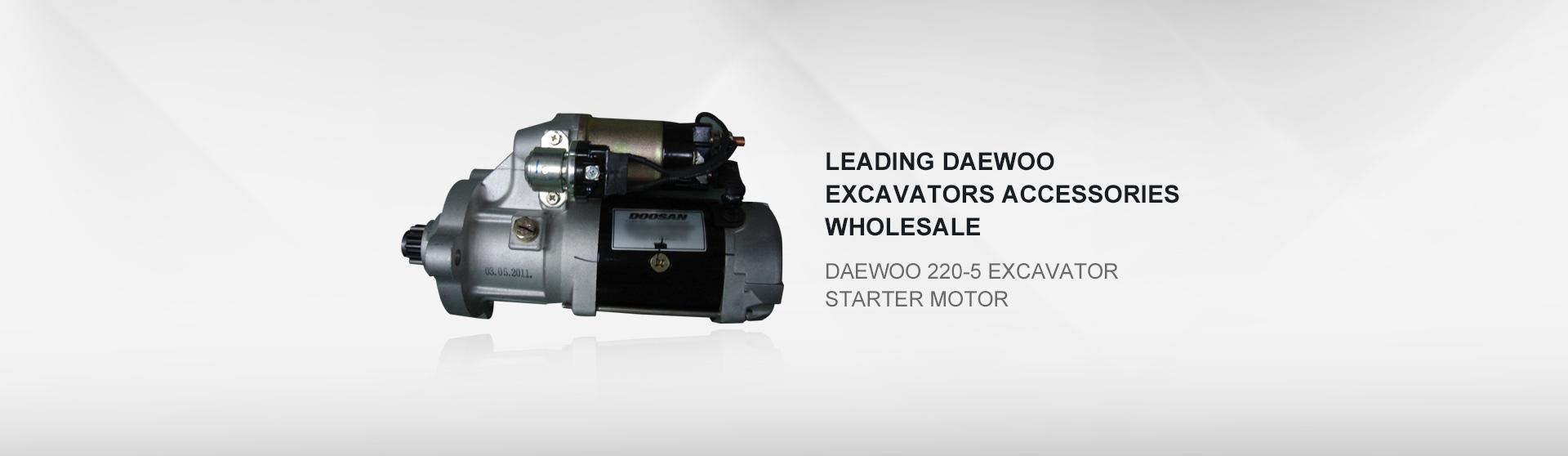Daewoo 220-5 excavator starter motor