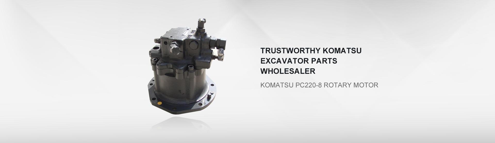 Komatsu PC200-8 rotary motor