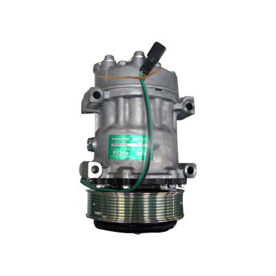 沃尔沃挖机配件 沃尔沃55空调压缩机 沃尔沃55空调泵